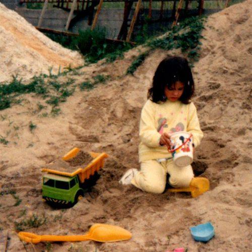 im sand